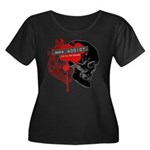 MMA Addict, In the Blood Women's Plus Size Scoop N