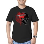 MMA Addict, In the Blood Men's Fitted T-Shirt (dar