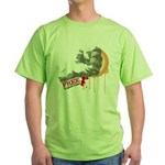 Fist, free to good home MMA Green T-Shirt