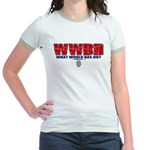 What Would Bas Do? Jr. Ringer T-Shirt