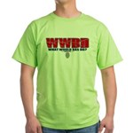 What Would Bas Do? Green T-Shirt