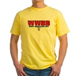 What Would Bas Do? Yellow T-Shirt