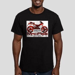 sachs madass Men's Fitted T-Shirt (dark)