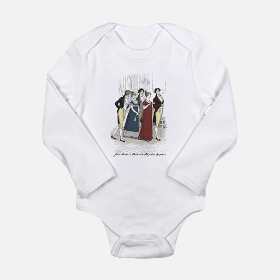 Pride and Prejudice Chapter 3 Long Sleeve Infant B