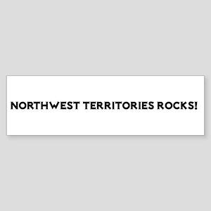 Northwest Territories Rocks! Bumper Sticker
