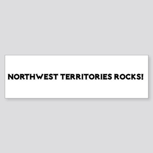 Northwest Territories Rocks! Bumper Sticker