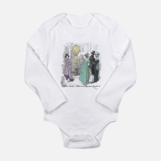 Pride & Prejudice Ch 10 Long Sleeve Infant Bodysui