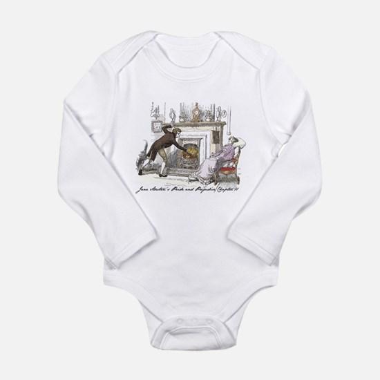 Pride & Prejudice Ch 11 Long Sleeve Infant Bodysui
