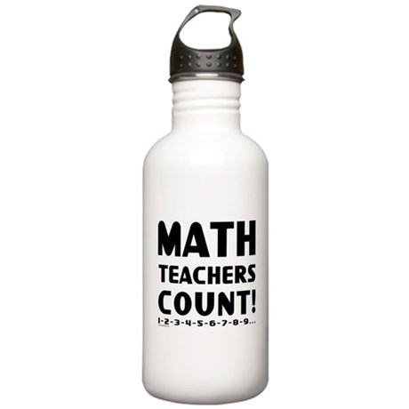 Teachers Count Stainless Water Bottle 1.0L