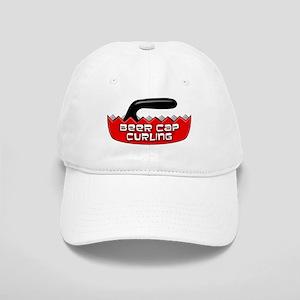 Beer Cap Curling - Baseball Cap