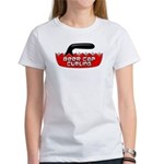 Beer Cap Curling - Women's T-Shirt