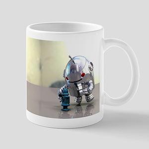 Jo Bot VS Little Blue Bot Mug