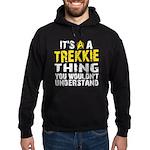 Trekkie Thing Hoodie (dark)