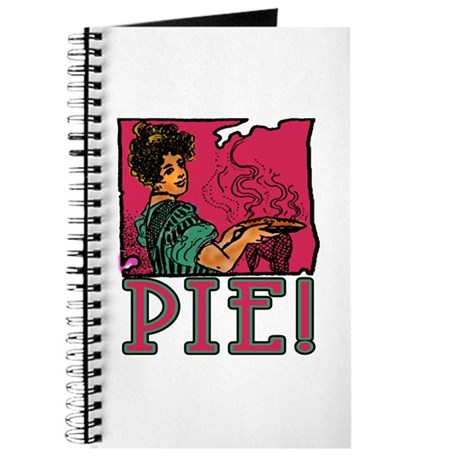 Pie with Vintage Art Journal