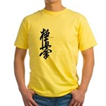 Kyokushin karate Yellow T-Shirt