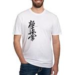 Kyokushin karate Fitted T-Shirt
