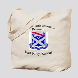 1st Bn 18th Infantry Tote Bag