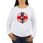 Kyokushin kanku Women's Long Sleeve T-Shirt