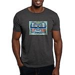 Folk Art Mask Dark T-Shirt