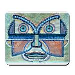 Folk Art Mask Mousepad
