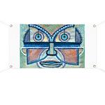 Folk Art Mask Banner
