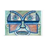 Folk Art Mask Mini Poster Print