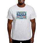 Folk Art Mask Light T-Shirt