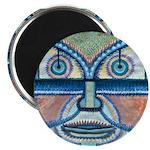 Folk Art Mask Magnet