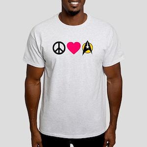 Peace Love Trek Light T-Shirt