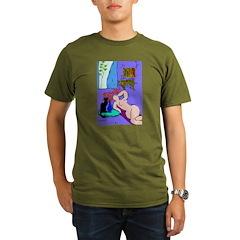 The Famous Black Cat Organic Men's T-Shirt (dark)