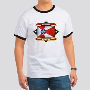 Wichita Flag Ringer T