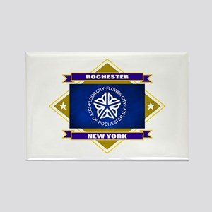 Rochester Flag Rectangle Magnet