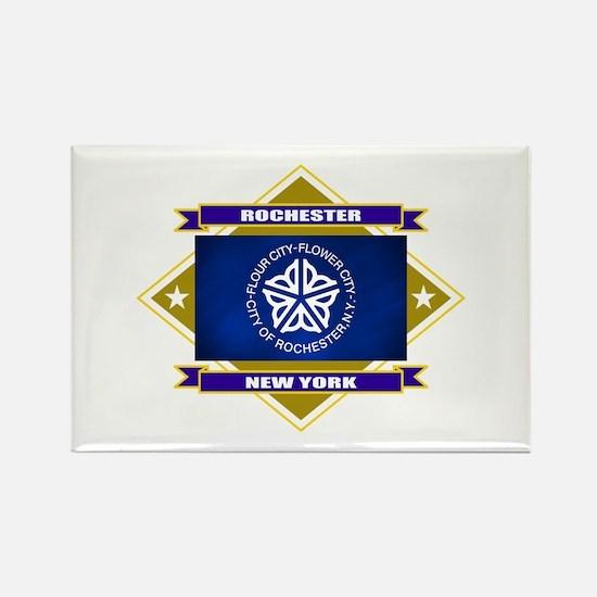 Rochester Flag Rectangle Magnet