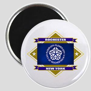 Rochester Flag Magnet