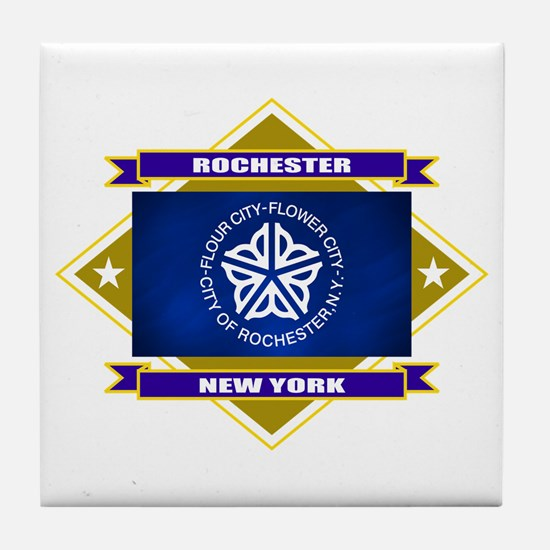 Rochester Flag Tile Coaster
