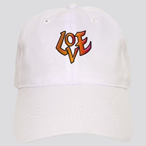 Orange Love Cap