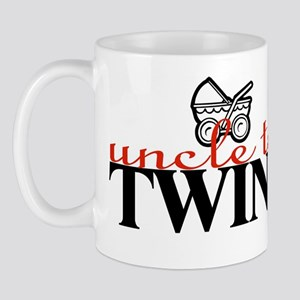 """Uncle to Twins"" Mug"