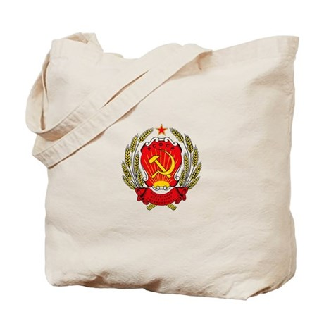 Soviet Russia Coat-of-Arms Tote Bag