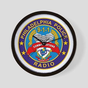 Philadelphia PD Radio Wall Clock