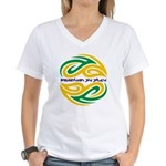 Tattoo design BJJ Women's V-Neck T-Shirt