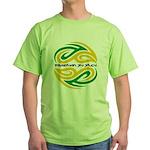 Tattoo design BJJ Green T-Shirt
