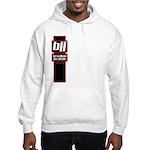 Jiu jitsu basics black red Hooded Sweatshirt
