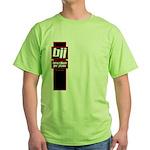Jiu jitsu basics black red Green T-Shirt