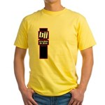 Jiu jitsu basics black red Yellow T-Shirt
