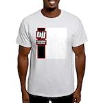 Jiu jitsu basics black red Light T-Shirt