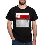 BJJ basics, white on red Dark T-Shirt