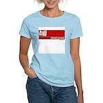 BJJ basics, white on red Women's Light T-Shirt