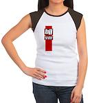 BJJ basics, red white black Women's Cap Sleeve T-S