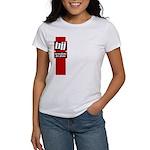 BJJ basics, red white black Women's T-Shirt