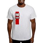 BJJ basics, red white black Light T-Shirt